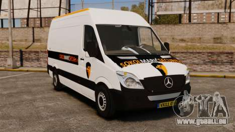 Mercedes-Benz Sprinter Sokol Maric Security pour GTA 4
