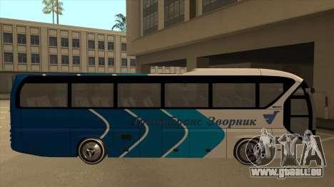 Neoplan Tourliner - Drinatrans Zvornik pour GTA San Andreas sur la vue arrière gauche