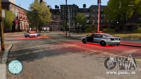 Ohne Polizei Bindestriche für GTA 4 Sekunden Bildschirm