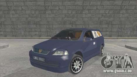 Opel Astra G Caravan Tuning für GTA San Andreas