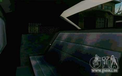 Manana Hatchback pour GTA San Andreas vue de côté