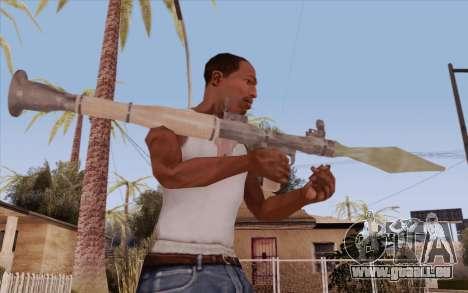 RPG pour GTA San Andreas troisième écran