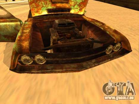 Ford Torino Rusty für GTA San Andreas Innenansicht