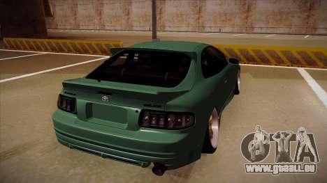 Toyota Celica GT4 pour GTA San Andreas vue arrière
