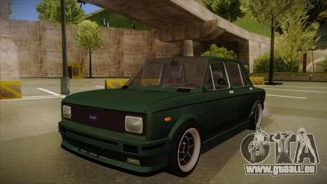 Fiat 128 Europe V Tuned für GTA San Andreas