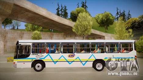 Marcopolo Viale pour GTA San Andreas sur la vue arrière gauche
