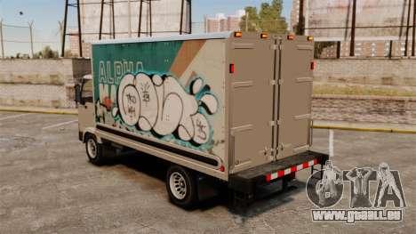 Nouveau graffiti pour Mule pour GTA 4 est un droit