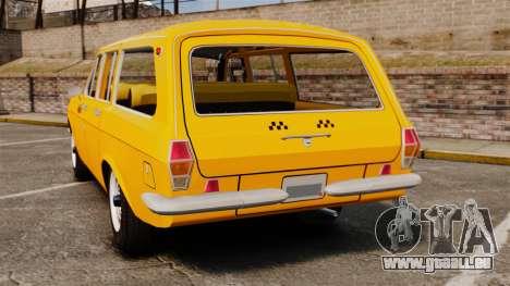 GAZ-24-02 Volga Taxi für GTA 4 hinten links Ansicht