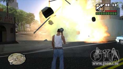ENB pour PC de OlliTviks pour GTA San Andreas troisième écran