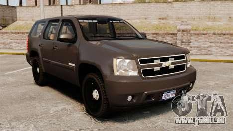 Chevrolet Tahoe Slicktop [ELS] v2 pour GTA 4