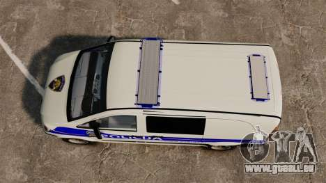 Mercedes-Benz Vito Croatian Police v2.0 [ELS] für GTA 4 rechte Ansicht