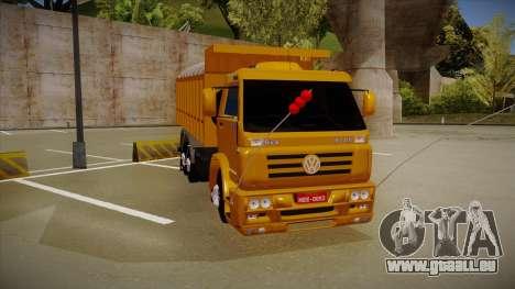 VW 18-310 Caçamba pour GTA San Andreas laissé vue