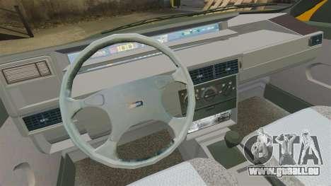 Fiat Tempra TR KeremAkca Edit für GTA 4 Rückansicht