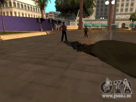 WeaponStyles pour GTA San Andreas cinquième écran