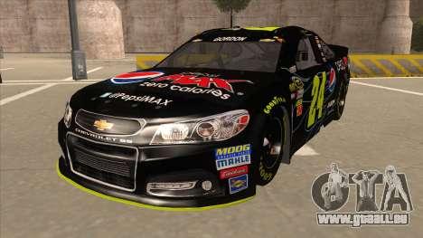 Chevrolet SS NASCAR No. 24 Pepsi Max AARP für GTA San Andreas
