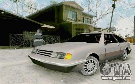 Manana Hatchback pour GTA San Andreas