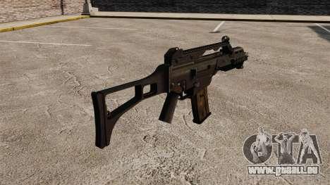 HK G36C assault rifle v1 pour GTA 4 secondes d'écran
