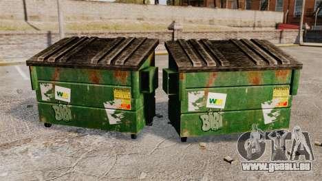 Bennes à ordures, Waste Management Inc. pour GTA 4 secondes d'écran