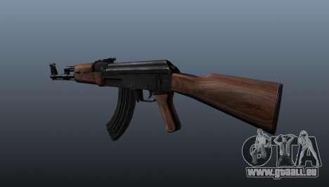AK-47 v3 pour GTA 4 secondes d'écran