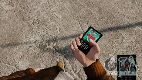 Thèmes pour téléphone Vampire The Masquerade pour GTA 4 sixième écran