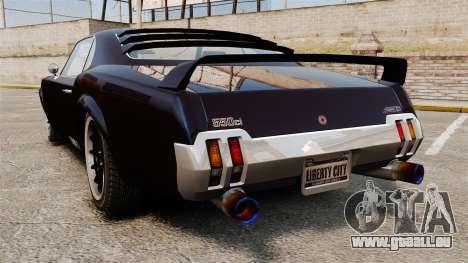 La nouvelle version de la GT de Sabre pour GTA 4 est une gauche