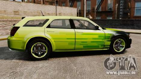Dodge Magnum West Coast Customs pour GTA 4 est une gauche