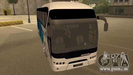 Neoplan Tourliner - Drinatrans Zvornik für GTA San Andreas linke Ansicht