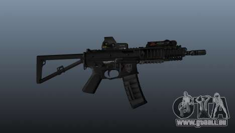 Carabine automatique KAC PDW pour GTA 4 troisième écran