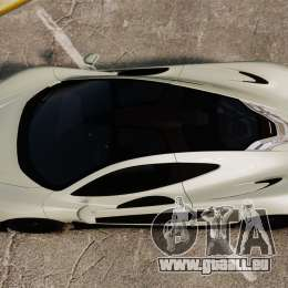 McLaren P1 [EPM] pour GTA 4 est un droit