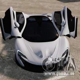 McLaren P1 [EPM] für GTA 4 obere Ansicht