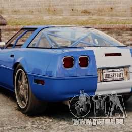Chevrolet Corvette C4 1996 v2 für GTA 4 hinten links Ansicht