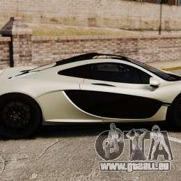 McLaren P1 [EPM] pour GTA 4 est une gauche