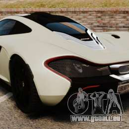 McLaren P1 [EPM] für GTA 4 hinten links Ansicht