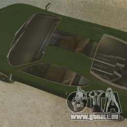 Turismo avec EPM pour GTA 4 Vue arrière de la gauche