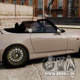 Honda S2000 für GTA 4 linke Ansicht