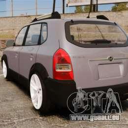 Hyundai Tucson für GTA 4 hinten links Ansicht