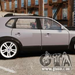 Hyundai Tucson für GTA 4 linke Ansicht