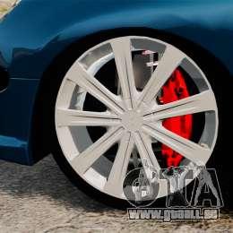 Peugeot 206 pour GTA 4 Vue arrière