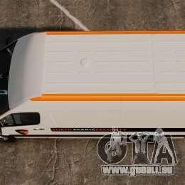 Mercedes-Benz Sprinter Sokol Maric Security pour GTA 4 est un droit