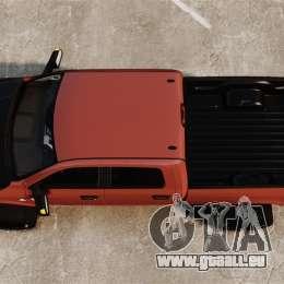 Dodge Ram 2500 Lifted Edition 2011 pour GTA 4 est un droit