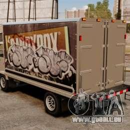 Nouveau graffiti pour Mule pour GTA 4 est une gauche