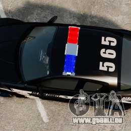 Mazda RX-8 R3 2011 Police pour GTA 4 est un droit