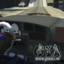 Seat Ibiza pour GTA 4 Vue arrière de la gauche