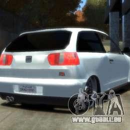 Seat Ibiza pour GTA 4 est une gauche