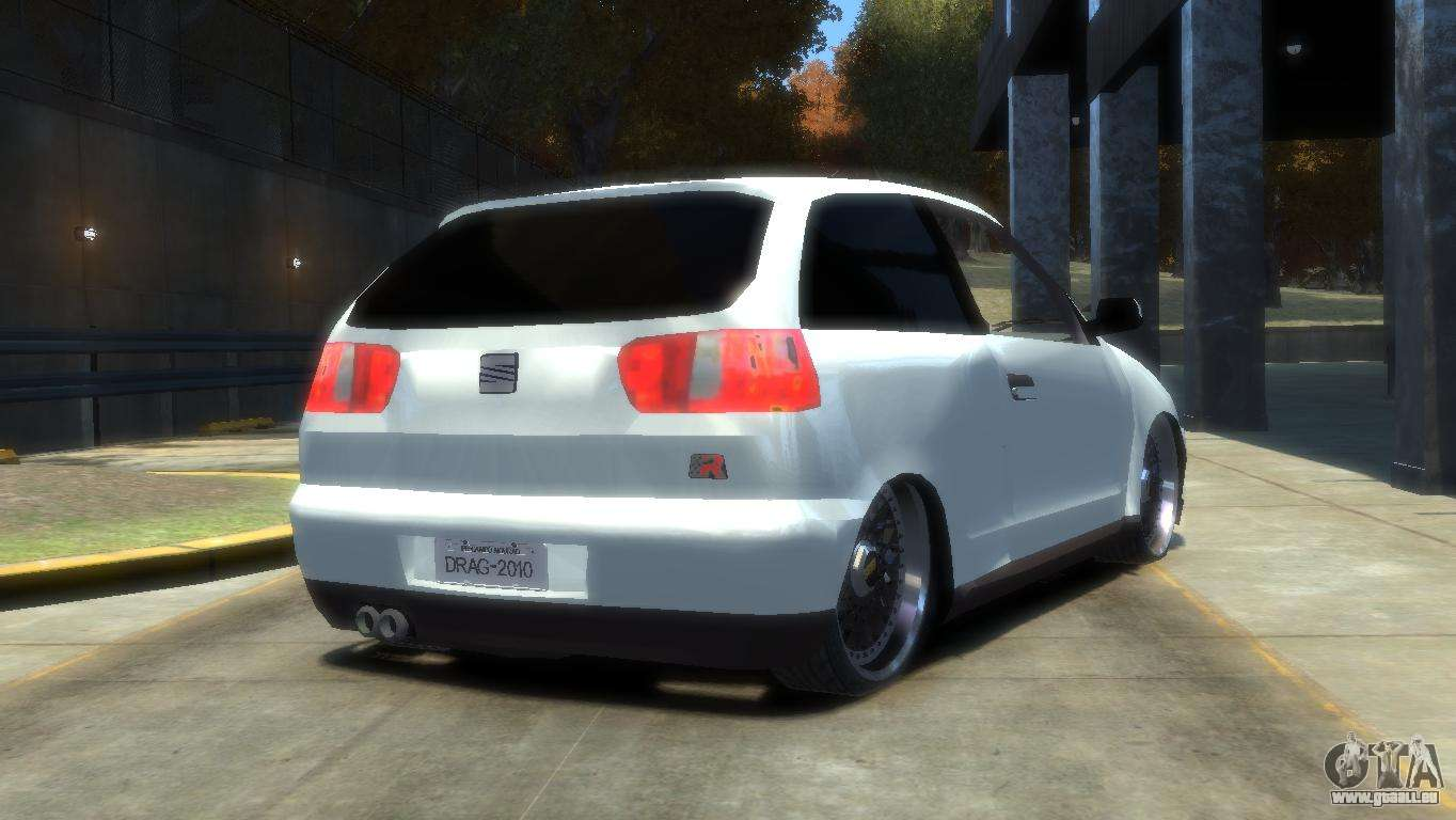 seat ibiza berline 3 portes pour gta 4. Black Bedroom Furniture Sets. Home Design Ideas