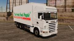 Scania R580 Tandem Woolworths pour GTA 4
