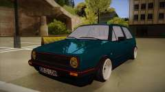 Volkswagen Golf MK2 Stance Nation by Razvan11