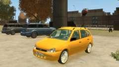 Lada Kalina Hatchback pour GTA 4