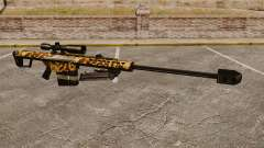 Le Barrett M82 sniper rifle v9