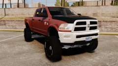 Dodge Ram 2500 Lifted Edition 2011 pour GTA 4